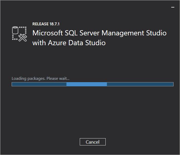 SQL Server Management Studio Install Screen 2